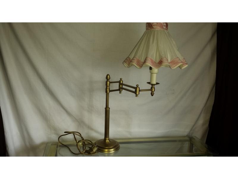 Lámpara de mesa extensible
