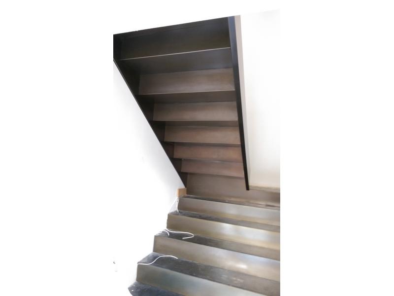 escaleras a medida acero corten madrid
