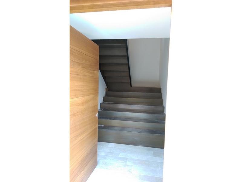 escaleras acero corten madrid