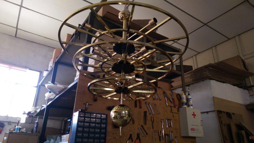 Lámparas de salón artesanales