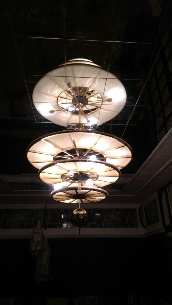 Fabricación de lámparas de salón