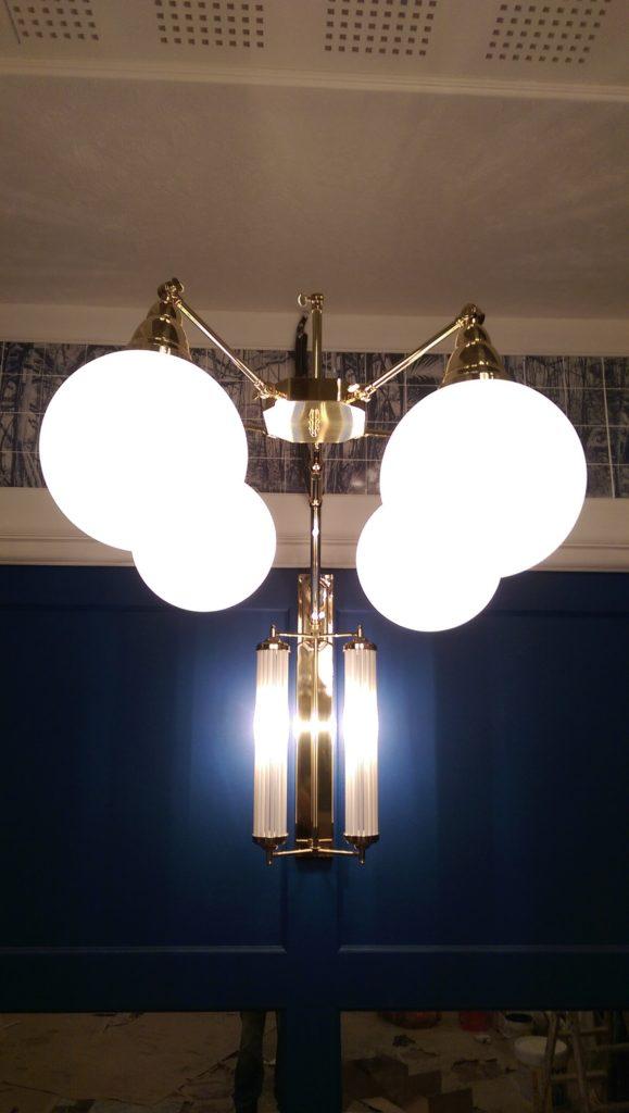 Lámparas de diseño de época