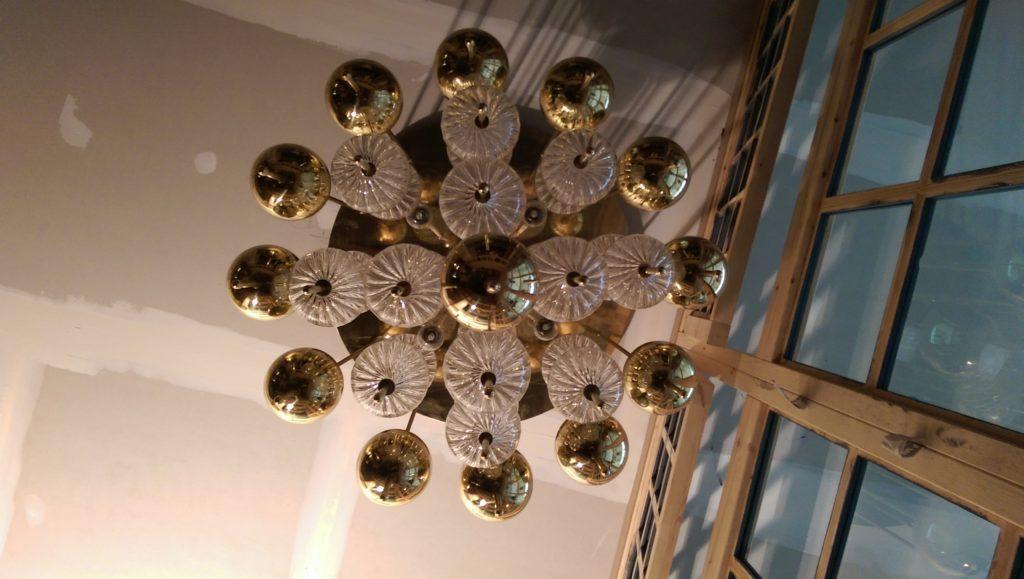Metalistería de lámparas