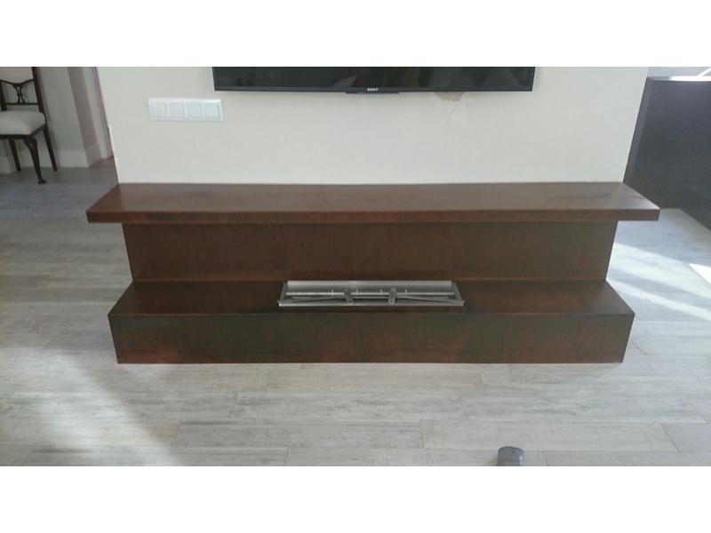 Muebles de acero corten
