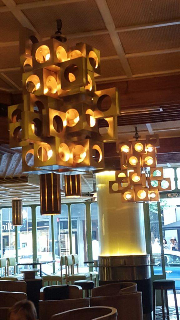 Lámparas de diseño de latón