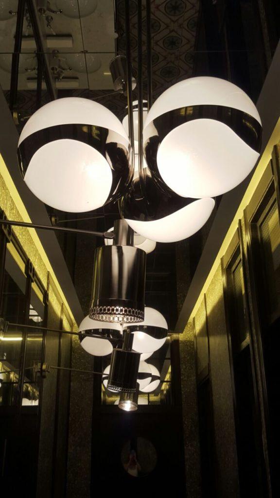 Lámpras de techo de globos