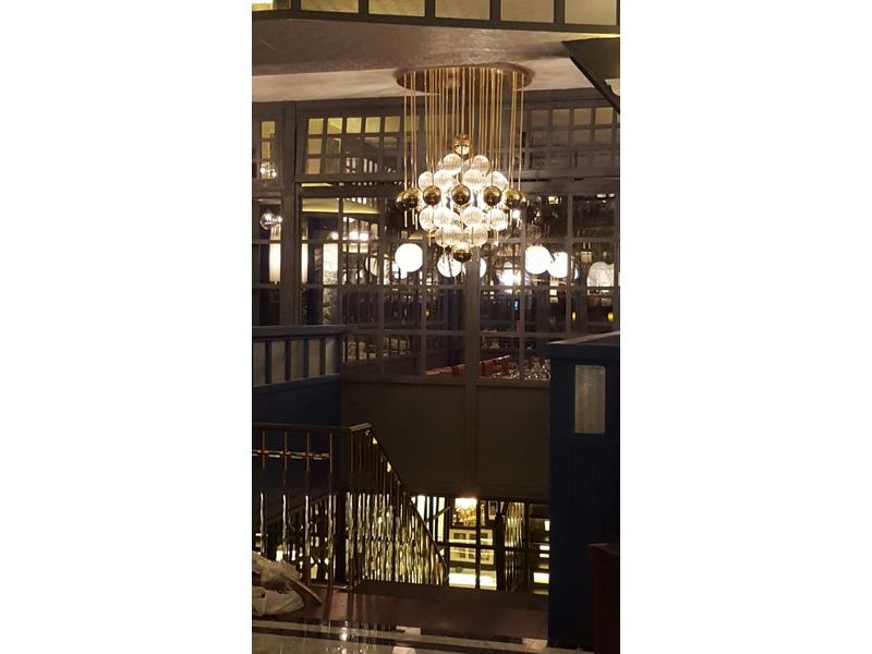 Fabricación lámparas de globos