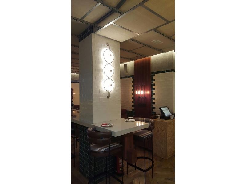 Apliques de pared para interiorismo de restaurantes