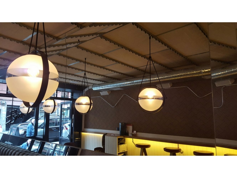 Lámparas de globo para restaurantes
