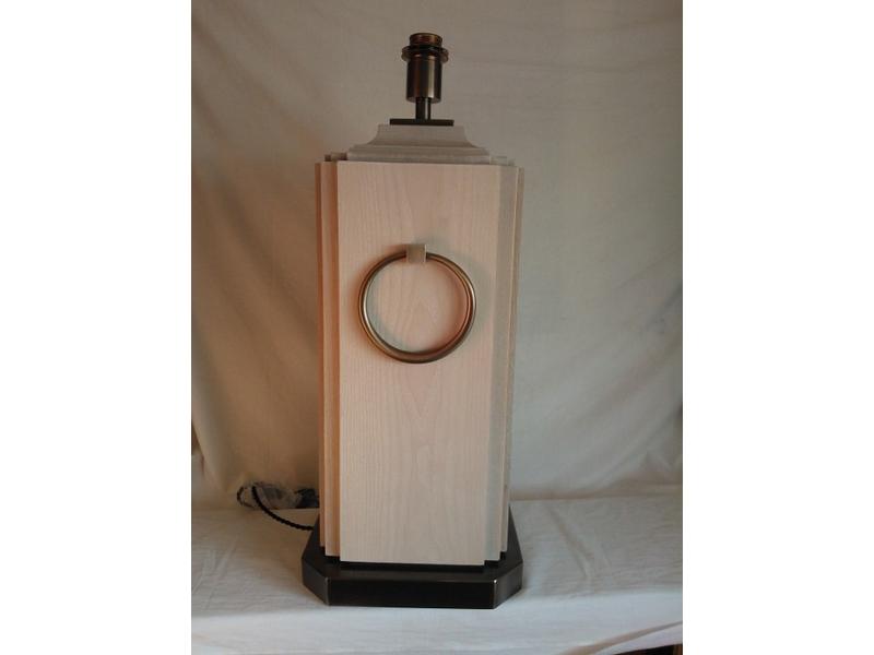 Lámparas de madera a medida