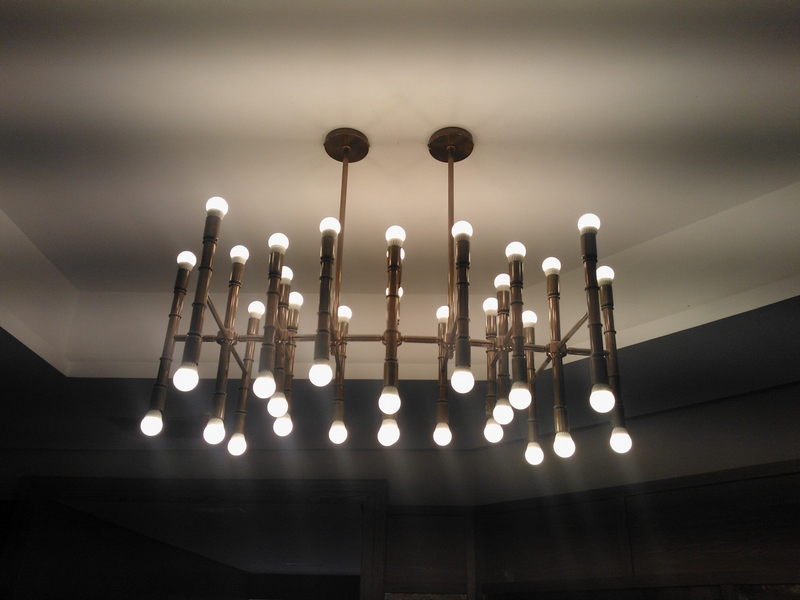 Artesanía en lámparas de techo