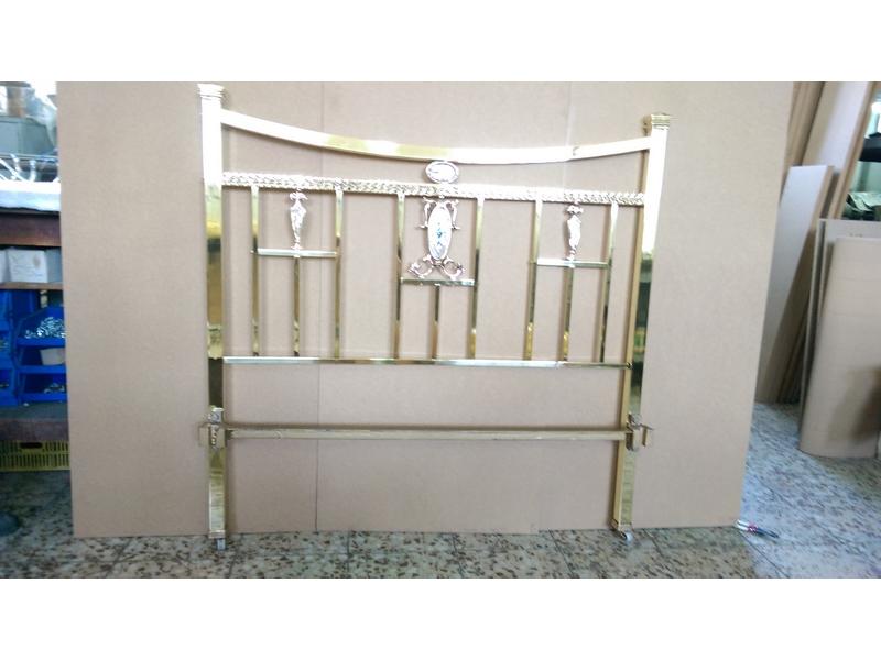 restauracion camas bronce madrid