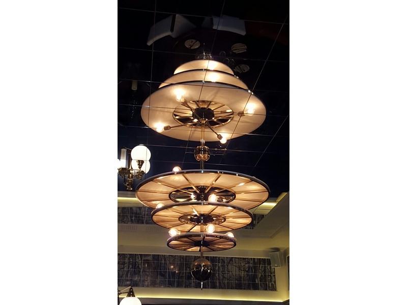 Lámpara de diseño para el Restaurante Chinchin