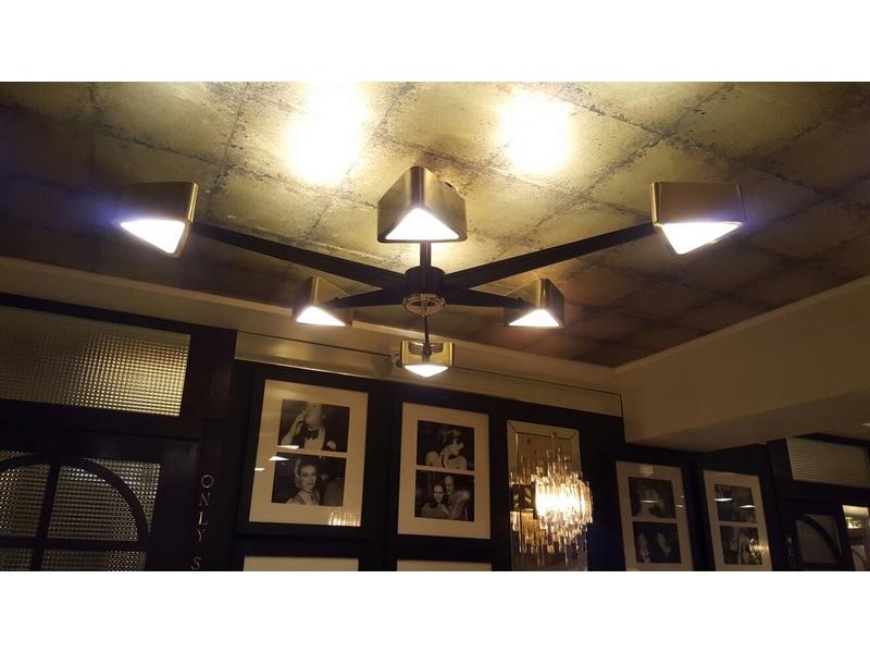 Lámparas de decoración de restaurantes