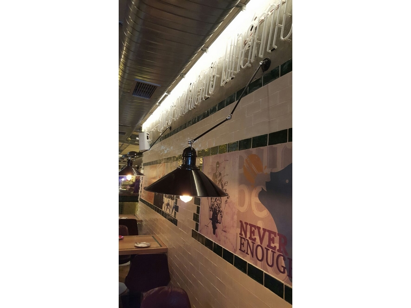 Lámparas decoración restaurantes
