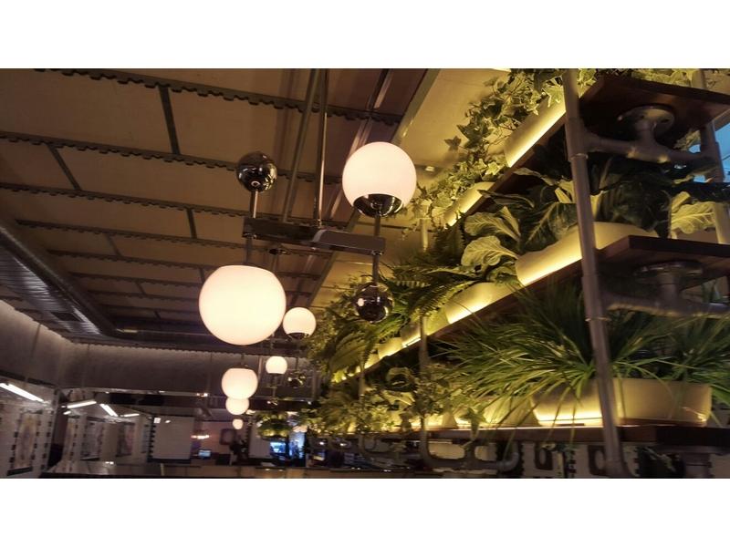 Lámparas de techo de globo