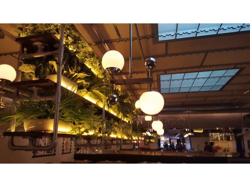 Lámparas de diseño para restaurantes