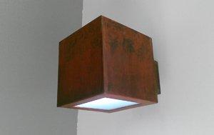 lámparas acero corten madrid