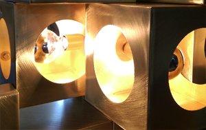 lámparas de latón madrid